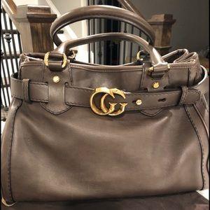 Gucci GG Running dark olive  handbag